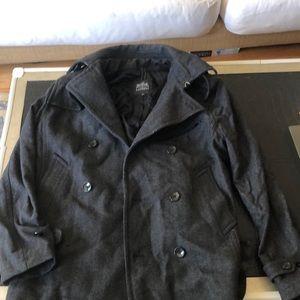Jackets & Blazers - Express grey women's p-coat.   Large